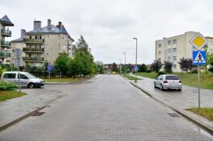 Przybliżona lokalizacja nowego przystanku przy ul. Bergiela na osiedlu Pięć Wzgórz w Gdańsku.