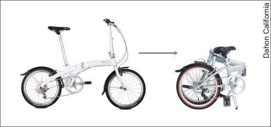 """Dahon California to jedna z pierwszych firm na rynku rowerowym, która """"odkopała"""" temat składaków."""