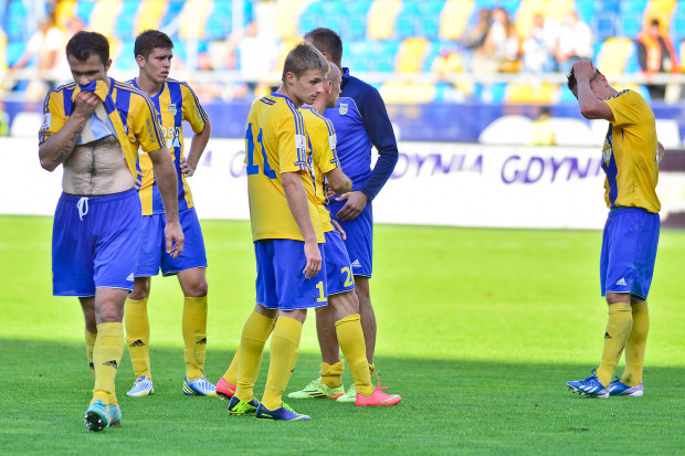 Piłkarze Arki w I lidze nie wygrali od pięciu kolejek, a mecz z Flotą Świnoujście jest już trzecim przegranym z rzędu.