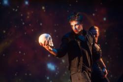 Hamlet w wykonaniu artystów z Sopockiego Teatru Tańca.