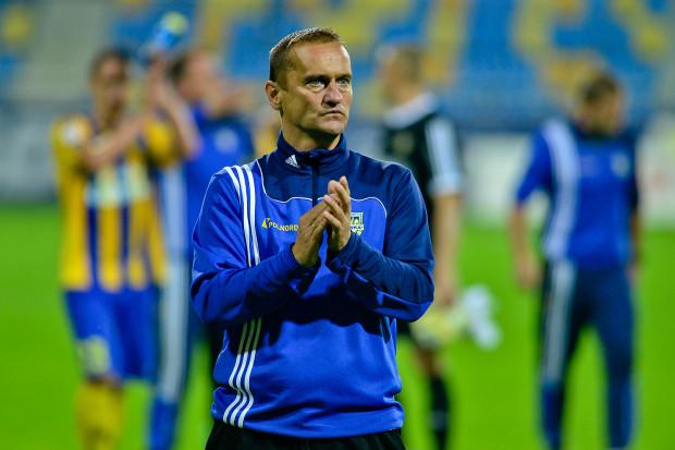 Dariusz Dźwigała czeka na decyzję, czy remis z Chojniczanką oznacza koniec jego pracy w Gdyni.