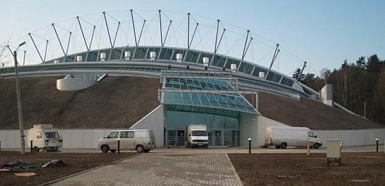 Tak obecnie prezentuje się nowa hala w Gdyni