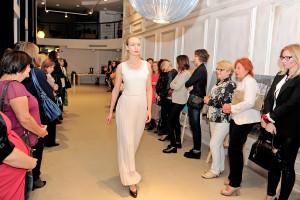 Pokaz sukienek Katarzyny Ambroziak Atelier Ambris.