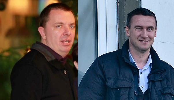 Piotr Zejer (z lewej) odkupił od Radosława Michalskiego 50 tysięcy akcji Lechii.
