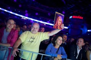 Na koncercie bawiło się ponad dziesięć tysięcy fanów.