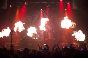 Koncert Behemotha był świetnie dopracowanym pirotechnicznym widowiskiem.