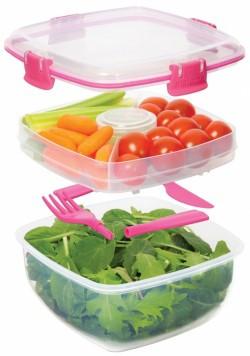 Dostępne na rynku pudełka ułatwiają przechowywanie i transport przygotowanego jedzenia do pracy.