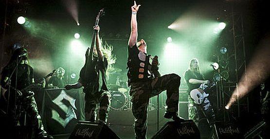 Grupa Sabaton ze Szwecji.