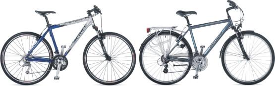 Rowery: crossowy i trekingowy