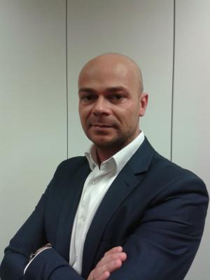 Marcin Hęćka, dyrektor Centrum Finansów Aviva w Gdyni.