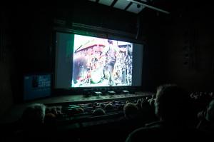 Audytorium Europejskiego Centrum Solidarności sprawdziło się w roli sali kinowej.