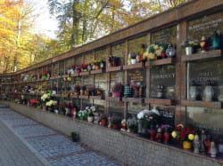 Kolumbarium na Cmentarzu Witomińskim.