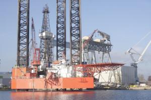 """Do tej pory platforma """"Petrobaltic"""" była wykorzystywana do wykonywania otworów w poszukiwaniu węglowodorów pod dnem Bałtyku."""