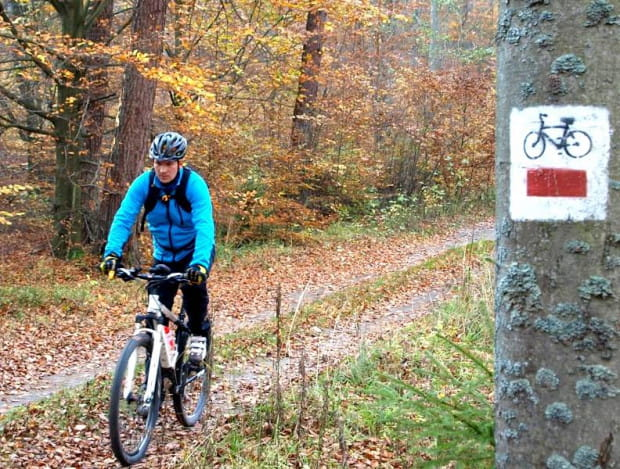 Testy szlaków rowerowych w okolicy Chmielna