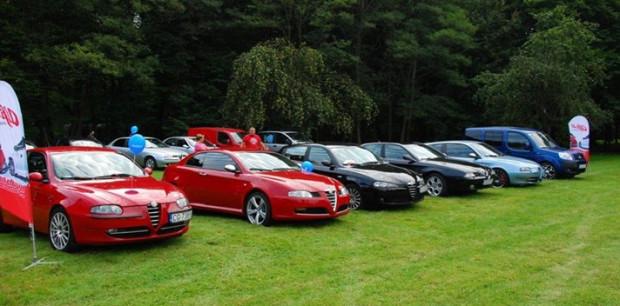 To już druga odsłona rajdu z udziałem fanów włoskich samochodów.