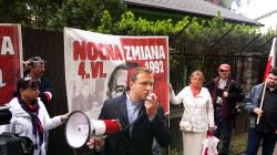 Michał Stróżyk (PiS) do tej pory znany był głównie jako organizator wielu politycznych manifestacji w Trójmieście.