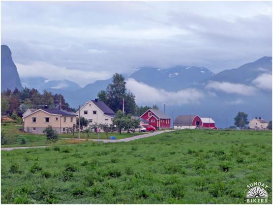 Migawki z wyprawy rowerowej przez Norwegię