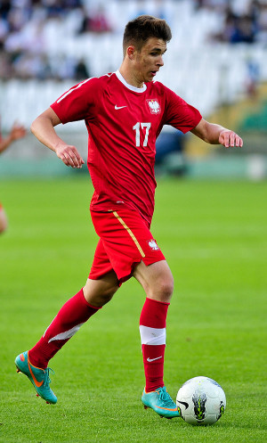 Dariusz Formella, który odszedł z Arki zimą 2013 roku do Lecha, zadedykował gola m.in. byłemu klubowi.