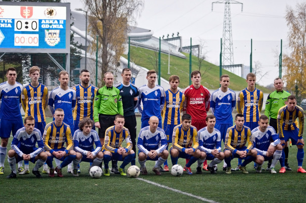 Piłkarze rezerw Arki Gdynia i Bałtyku Gdynia (na zdjęciu) występują w III lidze razem z rezerwami Lechii Gdańsk. Z Trójmiasta wyżej grają tylko pierwsze zespoły Lechii i Arki.