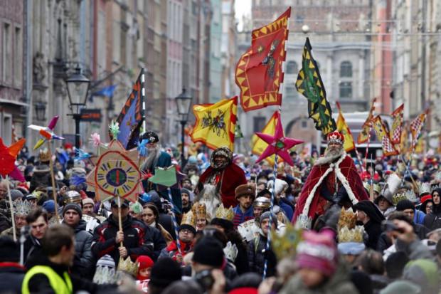 Co roku ulicami Gdańska 6 stycznia przechodzi barwny orszak z okazji Święta Trzech Króli.