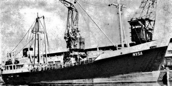 """""""Nysa"""" zatonęła 10 stycznia 1965 r."""
