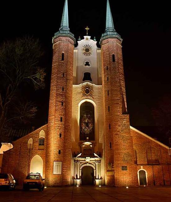 Kościołem katedralnym Archidiecezji Gdańskiej jest pocysterski kościół parafialny w Oliwie.