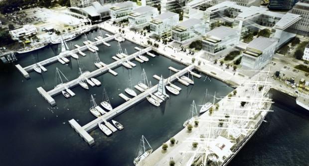 W nowej marinie zmieści się 120 jachtów