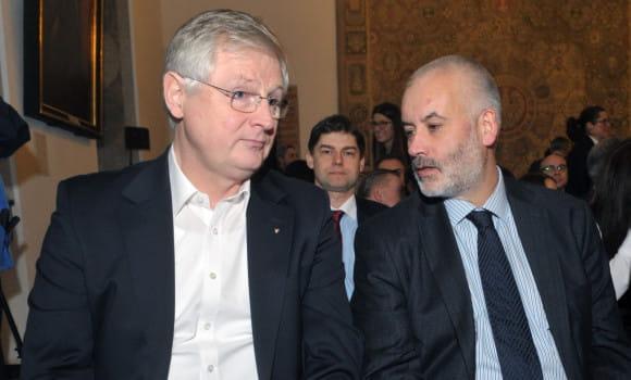 Nowy radny i bizmesmen, Jerzy Milewski z PiS (z lewej) jest obecnie najbardziej majętnym radnym w Gdańsku. Sporym majątkiem dysponuje także prof. Piotr Czauderna.