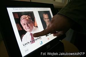 Polacy wyraźnie wskazali na Lecha Kaczyńskiego, jako na człowieka, który ma być ich prezydentem przez najbliższe pięć lat.