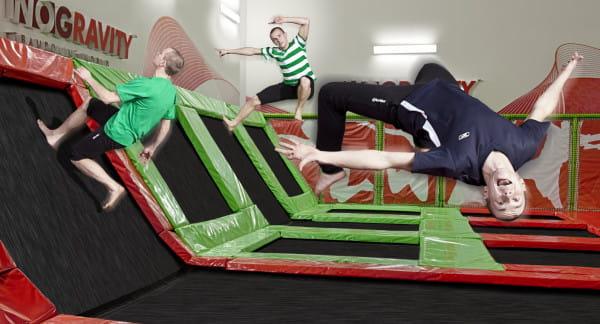 W ramach promocji, która trwa do odwołania, za 30 min. korzystania z trampolin zapłacimy 10 zł.