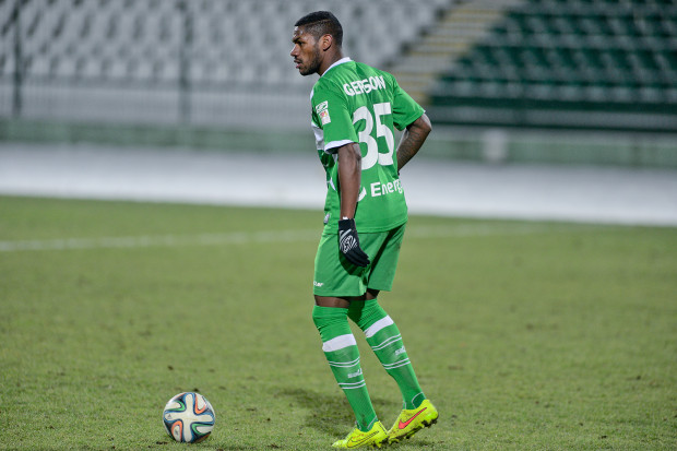 Gerson to jeden z siedmiu piłkarzy Lechii, którzy zagrali w obu sparingach przy ul. Traugutta, kończących zimowe gry kontrolne biało-zielonych.