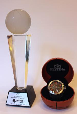 Nagrody dla najlepszego gracza turnieju.