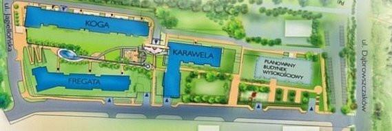 Gdy Hossa rozpoczynała budowę osiedla Marina Primore, mówiła o czterech budynkach: Fregacie, Kodze, Karaweli i Galeonie. O tym ostatnim budynku na jakiś czas ucichło. Od dziś to właśnie on będzie na ustach wszystkich.