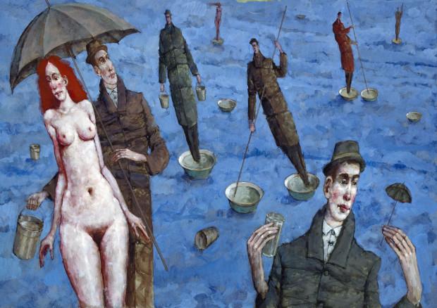 """Waldemar Marszałek, """"Przypadki Wodne"""", Galeria Triada."""