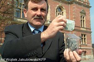 Włodzimierz Pietrzak, skarbnik Gdańska. To on od wielu lat pilnuje, żeby miejska kasa nie świeciła pustkami.