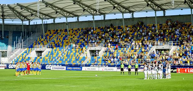 By Arka nie dokładała do organizowania spotkań ligowych na Stadionie Miejskim, na trybunach powinno zasiadać ponad 4 tysiące kibiców.