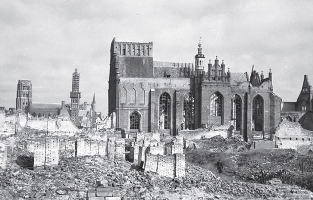 Gdańsk w odbudowie po II wojnie światowej.