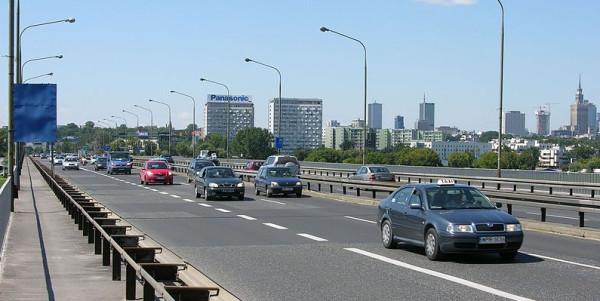 Most Łazienkowski w Warszawie.