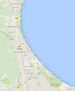 Trasa biegu na 20 km