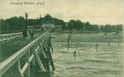 Molo w Jelitkowie – początek XX wieku.