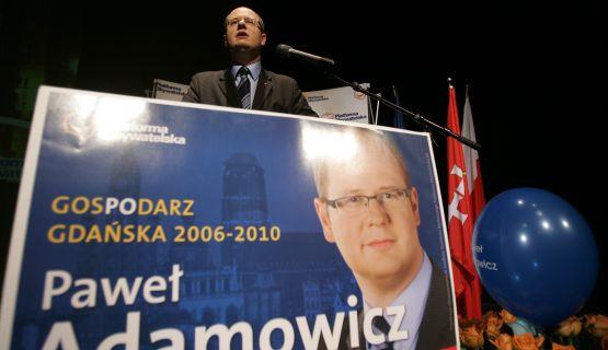 W tym roku Paweł Adamowicz będzie walczył o czwartą kadencję w fotelu prezydenta miasta Gdańska.
