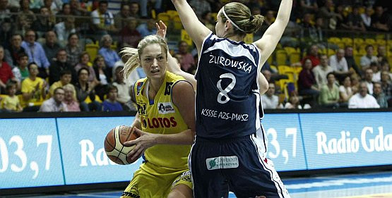 W nowym sezonie Magdalena Leciejewska zagra przeciwko gdyńskim koszykarkom.