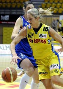 Magdalena Leciejewska i jej koleżanki znów wysoko przegrały w Gdyni.