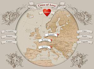 Szczegóły akcji promocyjnej Miast Miłości można poznać na stronie www.citiesoflove.eu