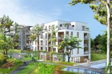 Według projektów, między budynkami osiedla mają powstać kanały z wodą.