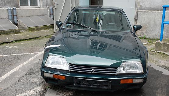 Kierowca uciekał tym Citroenem CX przez niemal cały Gdańsk.