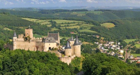 Zamek Bourscheid w Luksemburgu