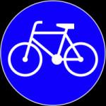 """Tylko taki znak - oznaczający wprost """"drogę dla rowerów"""" - nakazuje rowerzystom, by nią jechali i  zakazuje jazdy równoległą ulicą . Tak oznaczonych dróg jest w Trójmieście niewiele."""