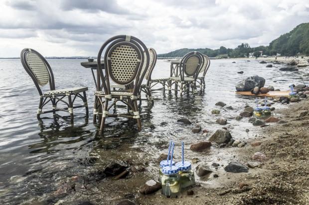 Może nad morze? Śniadanie pod gdyńskim klifem w morzu, z widokiem na orłowskie molo, w wydaniu gdyńskiej restauratorki Maliki.
