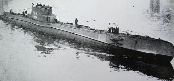 """Pod koniec sierpnia 1939 r., na wypadek wybuchu wojny, ORP """"Orzeł"""" bazował na Oksywiu."""
